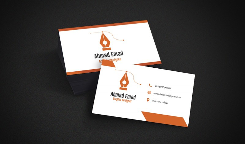خدمة تصميم 3 كروت شخصية أو بطاقات تعرفية بإحترافية